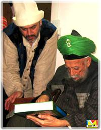 Mawlana Sheikh Nazim al-Haqqani and Sheikh Mehmet